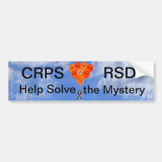Help Solve the Mystery Balloons Bumper Sticker