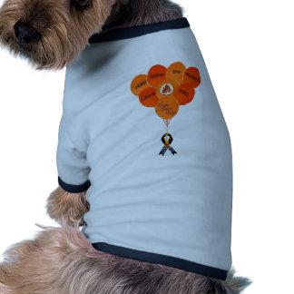 Help Solve the Mystery CRPS RSD Balloons  HOP Blaz Dog Shirt