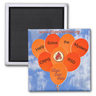 Help Solve the Mystery CRPS RSD Balloons Magnet