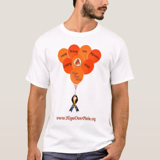 Help Solve the Mystery CRPS RSD Balloons Muscle Sh T-Shirt