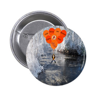 Help Solve the Mystery CRPS RSD Hope Over Pain Bal Pinback Button