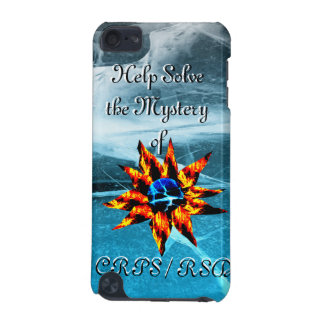 Help Solve the Mystery of CRPS RSD Lava Bloom I-Po iPod Touch (5th Generation) Cover