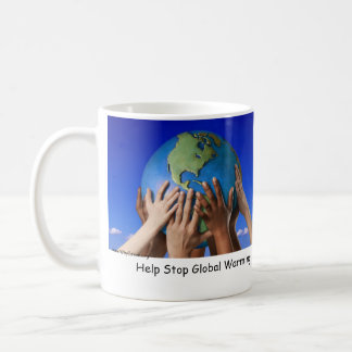 Help Stop Global Warming Classic White Coffee Mug
