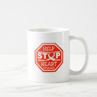 Help Stop Heart Disease Coffee Mug