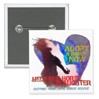 Help Stop Horse Slaughter Button