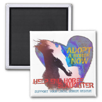 Help Stop Horse Slaughter Magnet