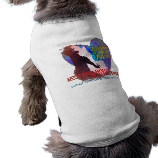 Help Stop Horse Slaughter Pet T Shirt