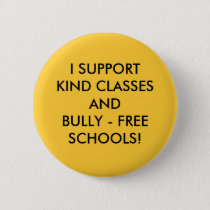 HELP STOP SCHOOL BULLYING! PINBACK BUTTON
