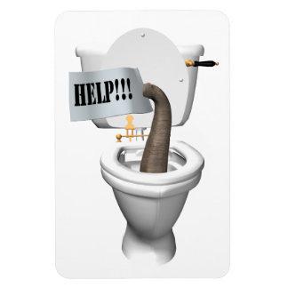 Help! Stuck in Toilet Magnet