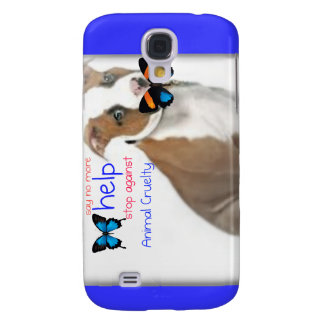 help support against animal cruelty galaxy s4 case