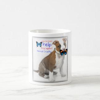 help support against animal cruelty coffee mug