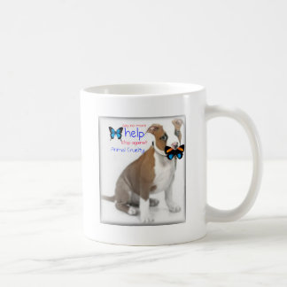 help support against animal cruelty coffee mugs