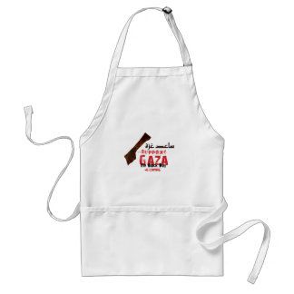 Help & support Gaza Adult Apron