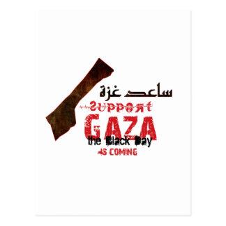 Help & support Gaza Postcard
