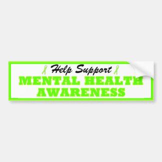 Help Support Mental Health Awareness Bumper Stckr Car Bumper Sticker