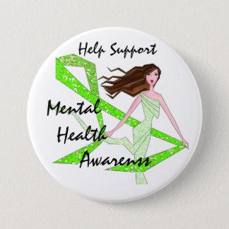 Help Support Mental Health Awareness buttons