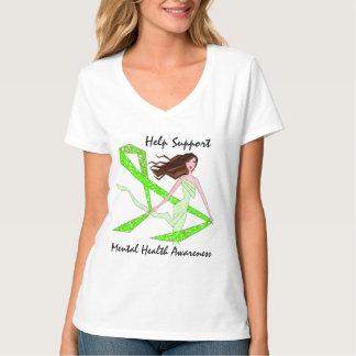 Help Support Mental Health Awareness Diva T-Shirts