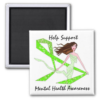Help Support Mental Health Awareness magnets