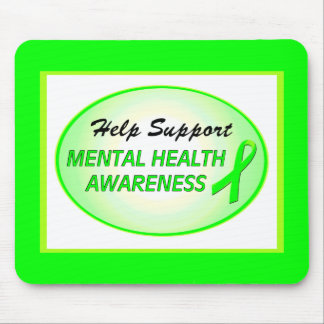 """Help Support Mental Health Awareness"" Mousepad"