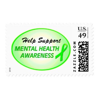 Help Support Mental Health Awareness Postage