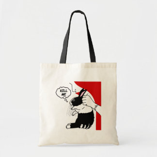 Help the Bunneh Budget Tote Bag
