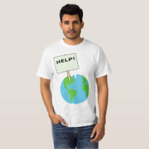 help the earth! T-Shirt