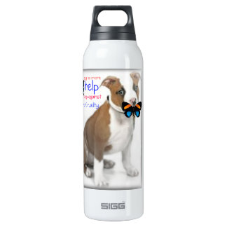 help the fight against animal cruelty  Liberty Bot 16 Oz Insulated SIGG Thermos Water Bottle