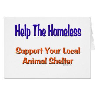 Help The Homeless Card
