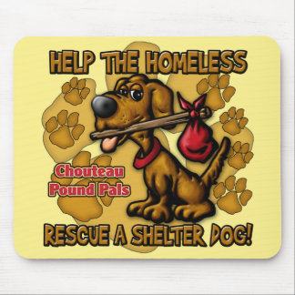 Help the Homeless Mouse Pad