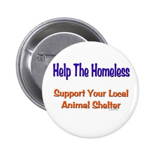 Help The Homeless Pin