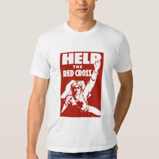 Help The Red Cross Tshirts