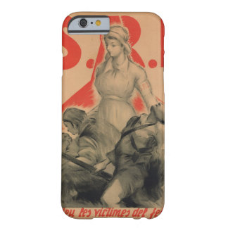 Help the victims of fascism_Propaganda Poster Barely There iPhone 6 Case