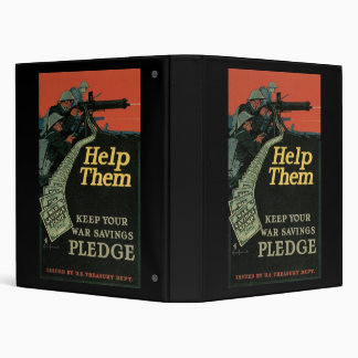 Help Them Keep Your War Savings Pledge Binder