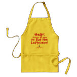 Help! There's No One to Eat the Leftovers Adult Apron