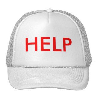 HELP TRUCKER HAT