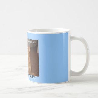 Help us end animal abuse and neglect mug.