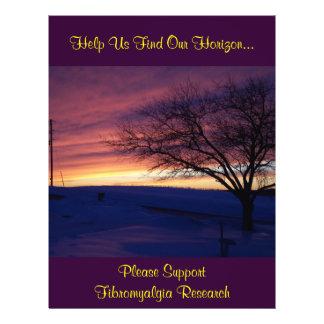 Help Us Find Our Horizon..., Fibromyalgia...Flyer Flyer
