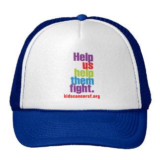 Help Us Help Them Fight! Trucker Hat