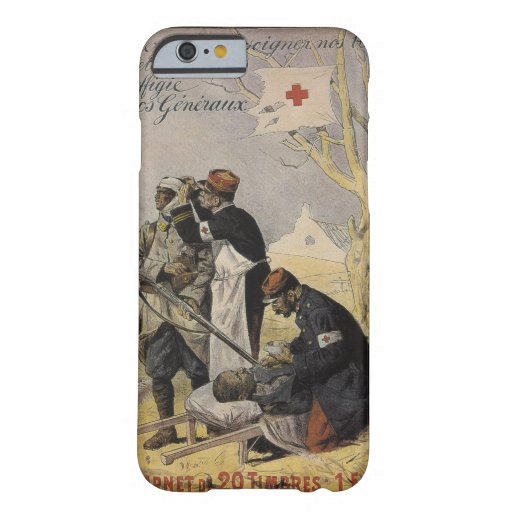 Help us to care for our wonded_Propaganda poster Barely There iPhone 6 Case