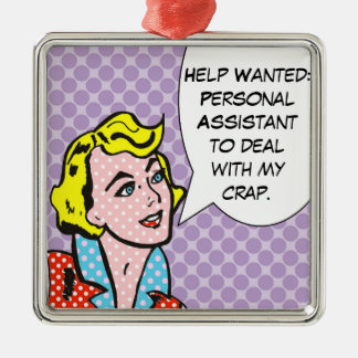 Help Wanted Comic Book Christmas Ornament