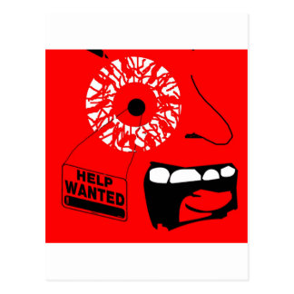 Help Wanted Postcards