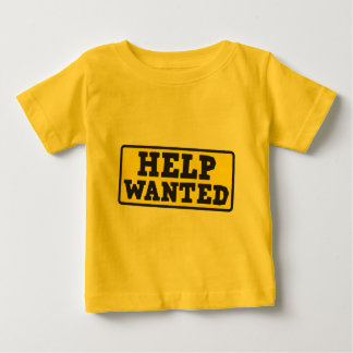 Help wanted sign baby T-Shirt