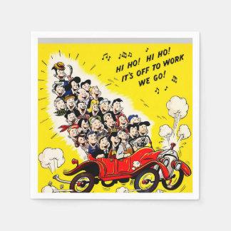 Help Win the War - Carpool Napkin