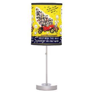 Help Win the War - Carpool Table Lamp