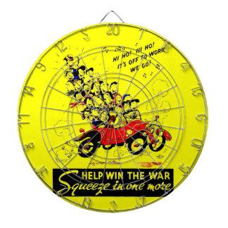 Help Win The War Dart Board