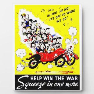 Help Win The War Photo Plaque