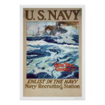 Help Your Country - Enlist in the Navy (US02286B) Posters