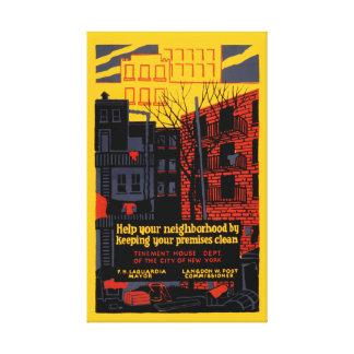 Help Your Neighborhood Canvas Print