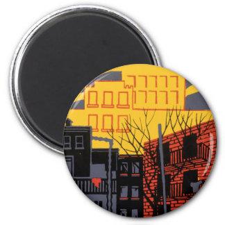 Help Your Neighborhood 2 Inch Round Magnet