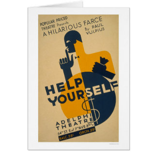 Help Yourself Farce 1936 WPA Card